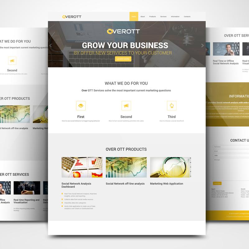 OverOTT Website Design