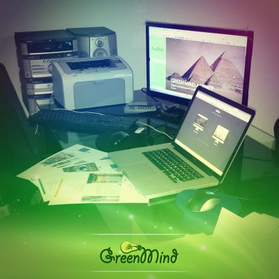 A long Day at Green Mind #Agency, Stay Tuned with our New #Clients List