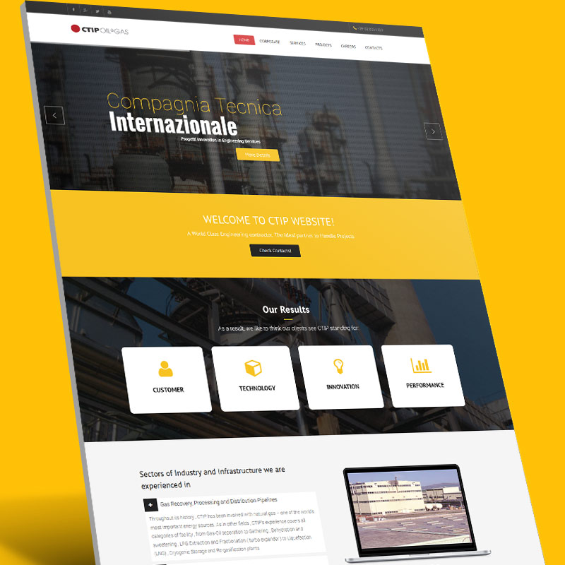 CTIP Website Design and Development