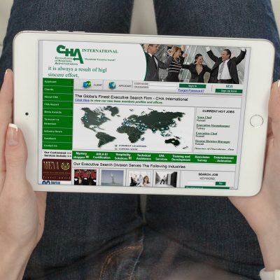 CHA International Website Design and Development