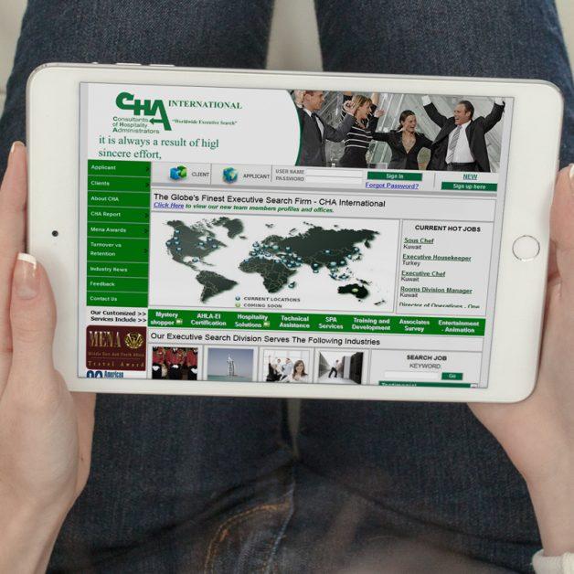 CHA International Website Design and Development