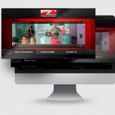 ZProduction Website design and development