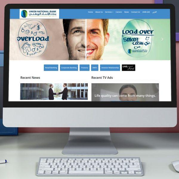 Union National Bank Website Design, Development, SEO, CMS