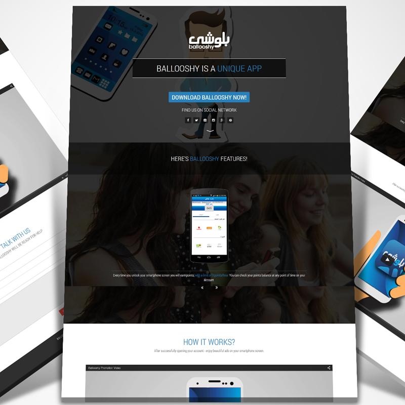 Ballooshy Website