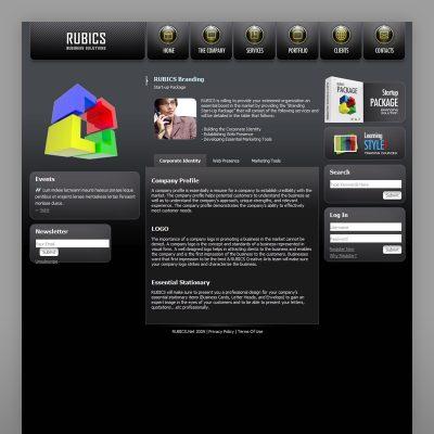 RUBICS Awarded Website Design and Development