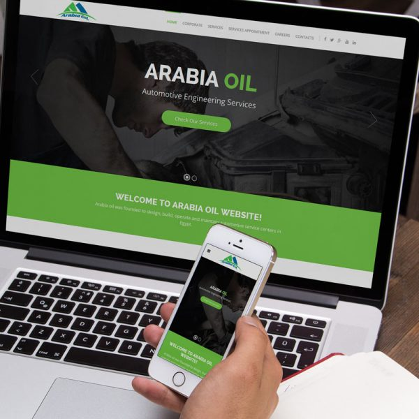 Arabia Oil Website Design and Development