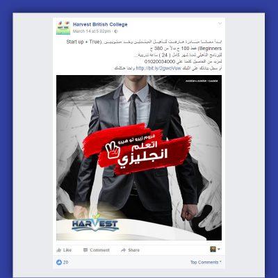 Harvest Online Advertising on Facebook and Instagram