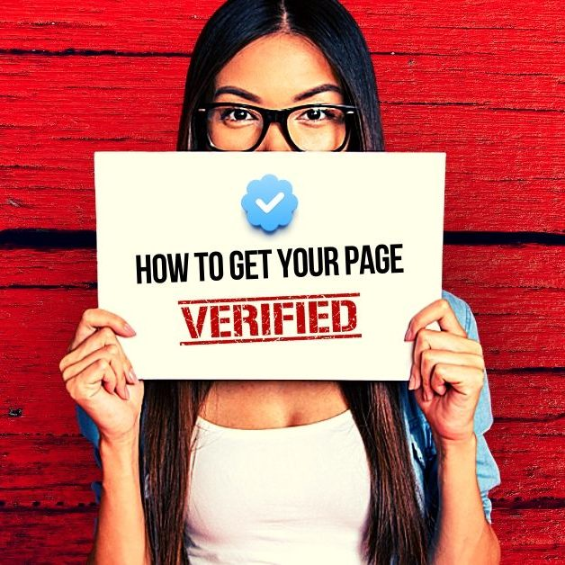 How to verify your Facebook page,'Get the Blue Badge'?