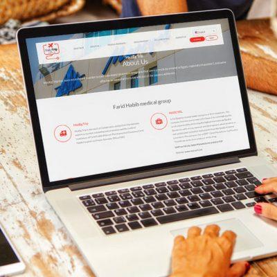 MedEg Trip, SEO, Website Design and Development