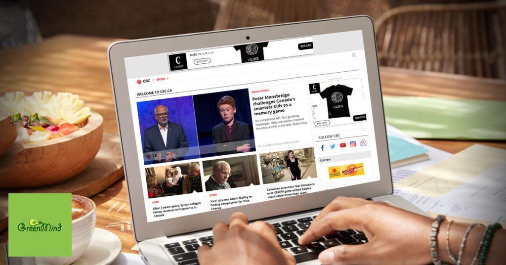 Caliber Clothing Online Digital Marketing GDN media Campaign