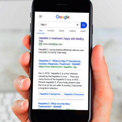 MedEg Trip Google Adwords Campaign
