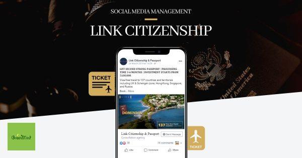 Link Citizenship Social Media Management