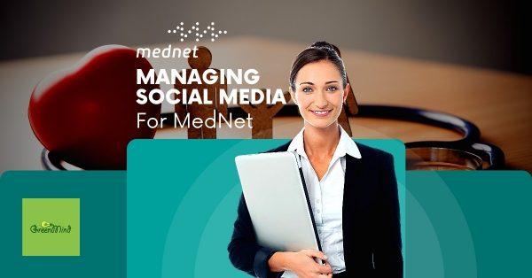 Social Media Management Work for MedNet