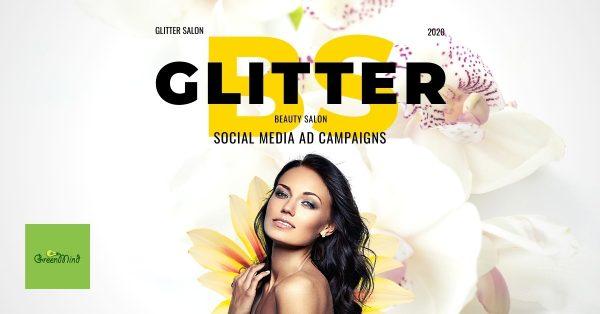 Glitter Salon Social Media Ad Campaigns