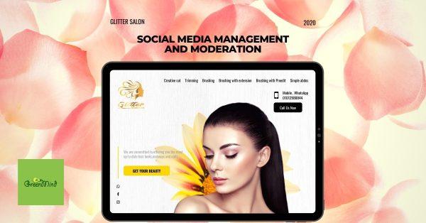 Glitter Beauty Salon | Case Study