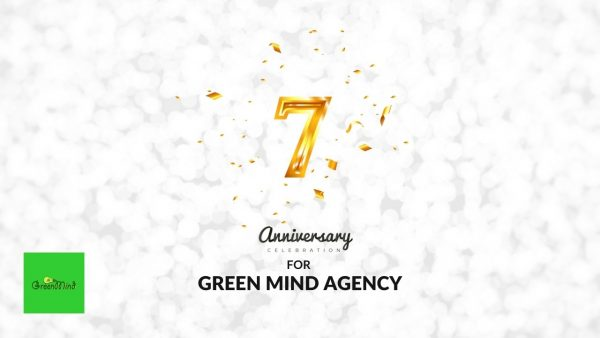Green Mind Agency is officially reaching 7 years