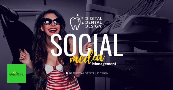 Social Media Management Work for D Dental D