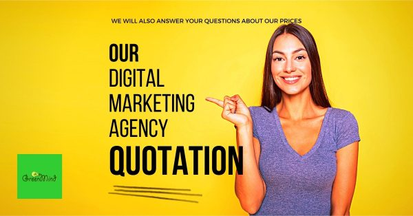 Our Digital Marketing Agency Quotation